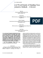 Paper 3 - Rapid Assessment of Wood Density of Standing Trees With Nondestructive Methods