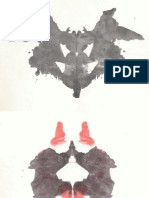 Láminas Del Test de Rorschach