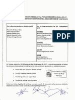 Acta 1 Comisión Negociadora para la revisión parcial del VI Convenio Colectivo