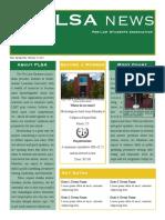 newsletter i designed