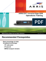 Arris D5 Operational Guide
