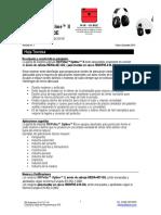Ficha Tecnica Peltor Optime II