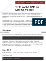 Tutorial Como Borrar La Cache DNS en Windows Ma