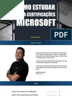 eBook - Como Estudar Para Certificações Microsoft