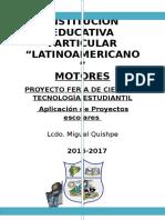 Proyecto de Feria 2017 Motores
