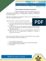 Evidencia 5 ACT 15 Taller Estrategias de Presentación de Productos