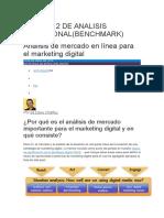 Análisis de Mercado en Línea Para El Marketing Digital