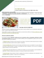 20 Recetas Para Bajar Colesterol y Trigliceridos Altos - ABajarColesterol