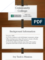 ivy tech community college project