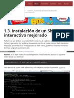 1.3. Instalación de Un Shell Interactivo Mejorado