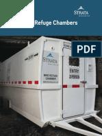 Strata Mine Refuge Chamber