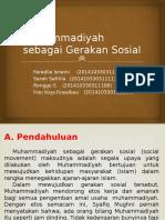 Muhammadiyah Sebagai Gerakan Sosial