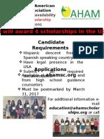 aham scholarship flyer 2017 revised  feb 2017