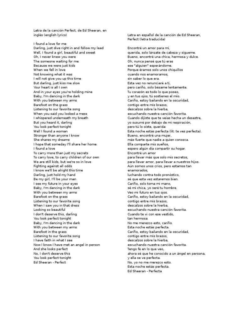 Letras Musica En Español Entretenimiento General