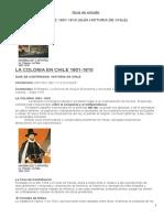 Guia de Studio La Colonia 1600 -1810
