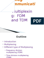 6-Multiplexing FDM and TDM