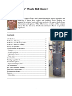 Manual Roger Sanders Waste Oil Heater V2