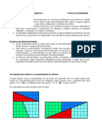 Matemática - Pré-Vestibular Vetor - Desafios - Quebra-cabeças Pitagóricos