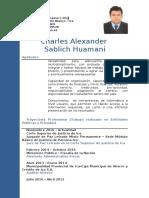 Curriculum de Charles Sablich 2016