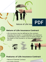 Nature of Life Insurance Contract