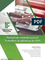 Manual de Normalizações de Trabalhos Acadêmicos Do IFPI