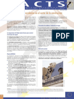 Factsheet 36 - Prevencion de Accidentes en El Sector de La Construccion