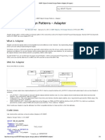 ABAP Object Oriented Design Pattern Adapter (Wrapper)