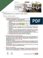 Información de Problemas de la corriente del niño en Perú 2017