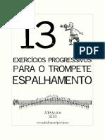 13 Exercicios Progressivos para o Trompete - Espalhamento.pdf