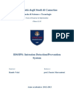 IDS-IPS Intrusion Detection-Prevention System