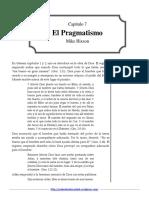7 El Pragmatismo