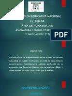 Presentación Lengua Castellana _ 19.01.17