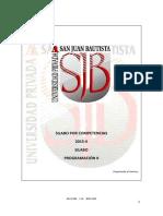 Silabo Por Competencias Rec-fr-005 Programa Regular v 3 0 - Curso Programacion II