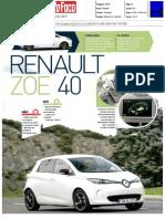 "NOVO RENAULT ZOE Z.E. 40 NA ""AUTO FOCO"""