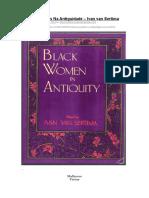 Livro - Mulheres Pretas Na Antiguidade