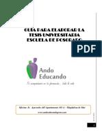 GUIA 2015 15 Octubre - Tesis Pregrado y Postgrado