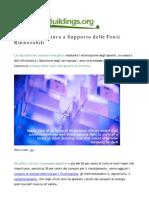 La Bioarchitettura a Supporto Delle Fonti Rinnovabili