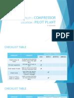 Checklist PM