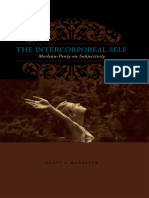 The Intercorporeal Self - Marratto, Scott L