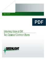 Greenlight GM Presentation