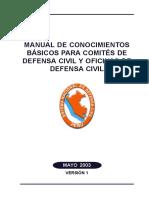 Manual de Defensa Civil 110 Pag