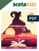 Programa FIL UABC 2017