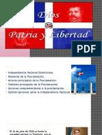 La Independencia Nacional Dominicana
