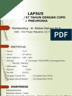 LAPSUS 1 Ilmi pneumonia+COPD