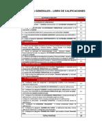 Actividades Del Libro de Calificaciones -SEMESTRE 2017