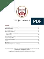 DevOps the Basics