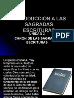 Canon de Las Sagr Escr