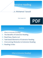 Extensive Reading Ppt