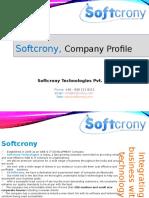 Softcrony Company Profile