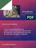 Caracteristicas de las Dolomitas